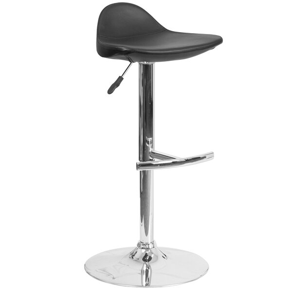 Steinway Adjustable Height Swivel Bar Stool by Wade Logan