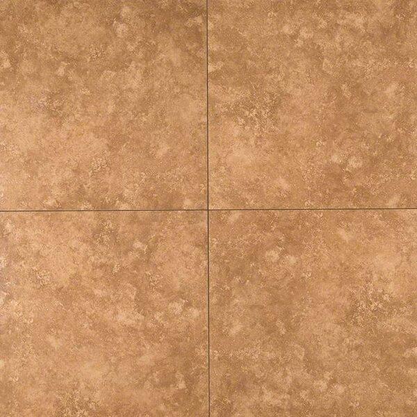 Baja 20 x 20 Ceramic Field Tile in Brown by MSI