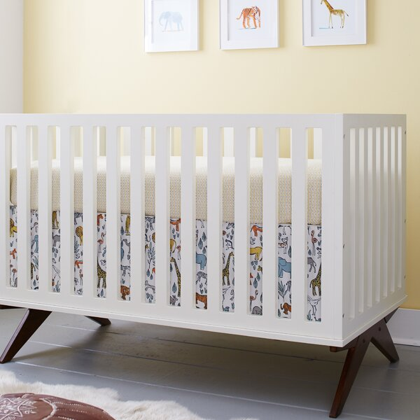 Norfolk 3-in-1 Convertible 3 Piece Crib Set by DwellStudio