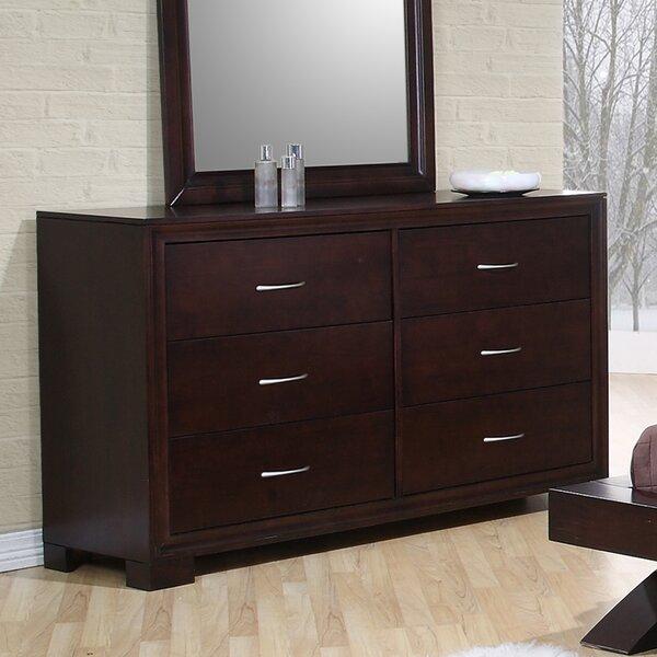 Linkwood Double Dresser in Rich Merlot by Wrought Studio