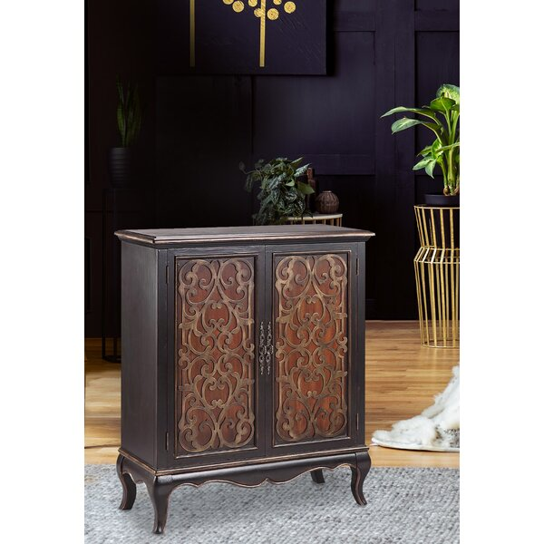 Jamie 2 Door Accent Cabinet by Fleur De Lis Living