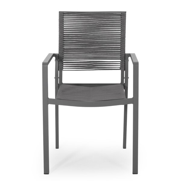 Kanawha Patio Dining Chair (Set of 2) by Ebern Designs