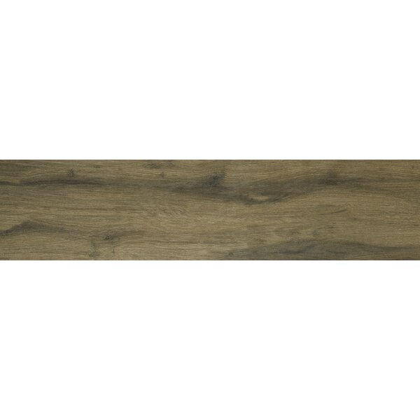 Botanica Cashew 6 x 24 Porcelain Wood Tile in Glazed Textured by MSI