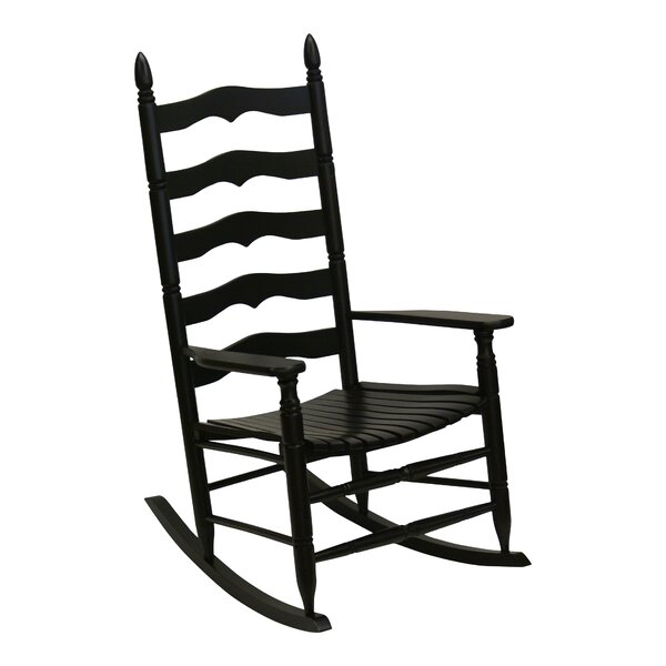 Lake Macquarie Ladder Back Rocking Chair by Gracie Oaks