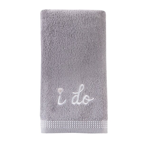 Erich I Do Cotton Hand Towel (Set of 2) by Winston Porter