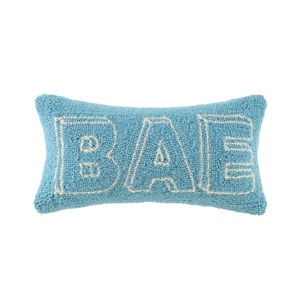 BAE Hook Wool Lumbar Pillow by Peking Handicraft