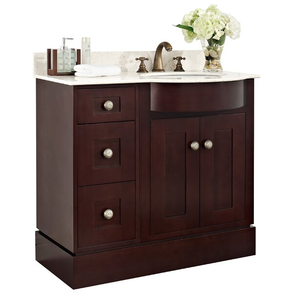 36 Single Transitional Bathroom Vanity Set by American Imaginations36 Single Transitional Bathroom Vanity Set by American Imaginations