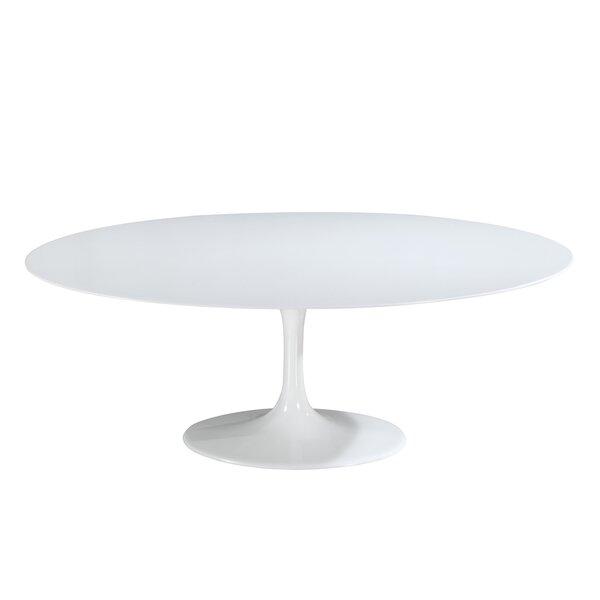 Sariah Oval Fiberglass Dining Table