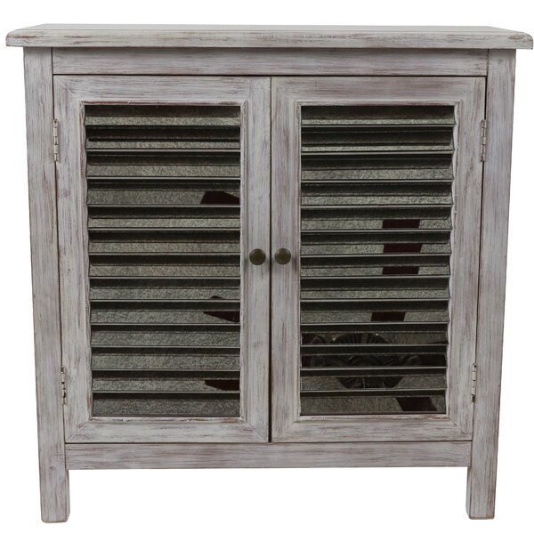 Brumbelow 2 Door Mirrored Accent Cabinet by Gracie Oaks Gracie Oaks