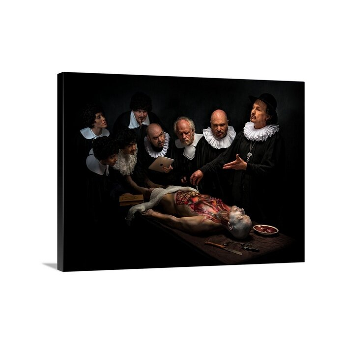 Great Big Canvas \'Anatomy Lesson II\' by Derek Galon Painting Print ...