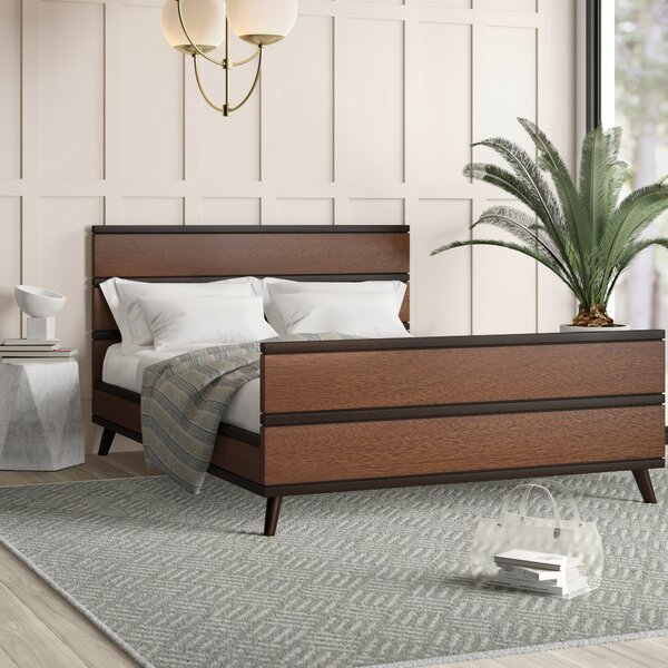 Radcliff Mid Century Queen Platform Bed by 17 Stories