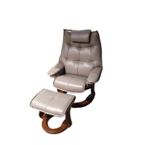 Hana Leather Manual Swivel Rec..