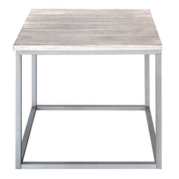 Side Cubic Vintage End Table by REZ Furniture