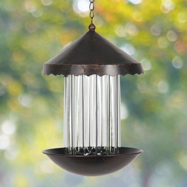 Solar Tube Bird Feeder by Exhart