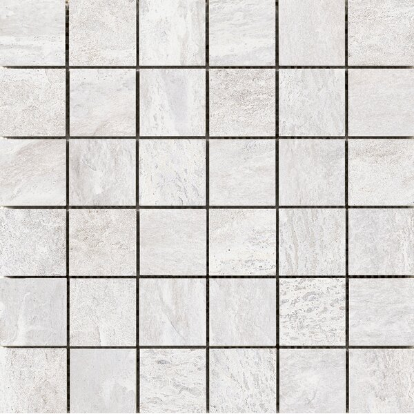 Milestone 2 x 2 Porcelain Mosaic Tile in White by Emser Tile