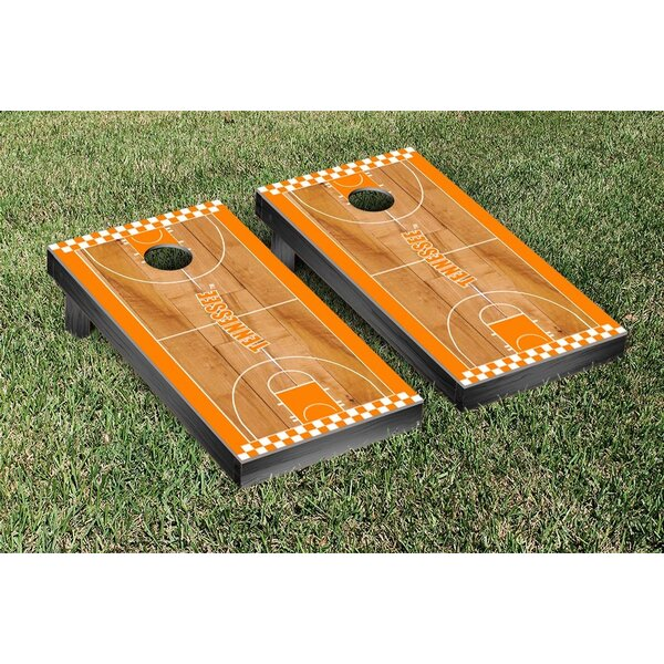 NCAA Border Basketball Version Cornhole Game Set by Victory Tailgate