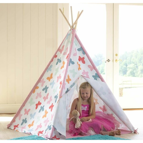 Butterfly Pop-Up Play Teepee with Carrying Bag by Magic Cabin