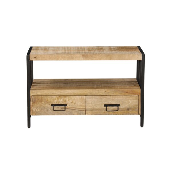 Brittain Solid Wood TV Stand For TVs Up To 43