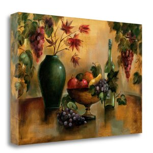 'Autumn Hues' Print on Wrapped Canvas by Tangletown Fine Art