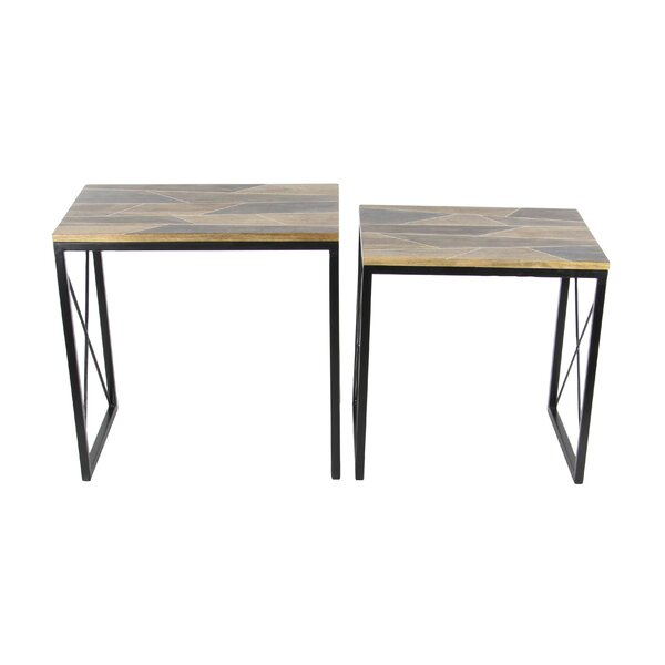 Opperman 2 Piece Nesting Tables