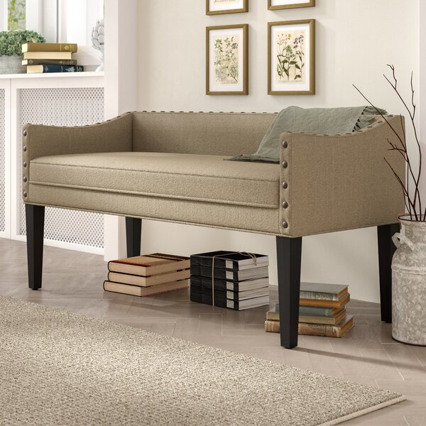Miesha Upholstered Bench by Latitude Run Latitude Run