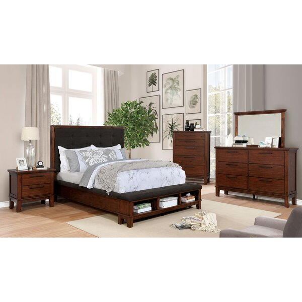 Holden Tufted Queen Platform Configurable Bedroom Set by Millwood Pines