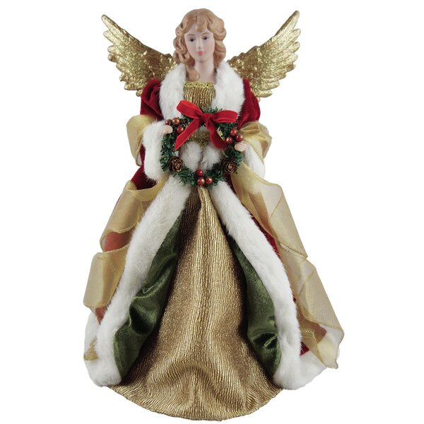 Christmas Angel Tree Topper by Santa's Workshop