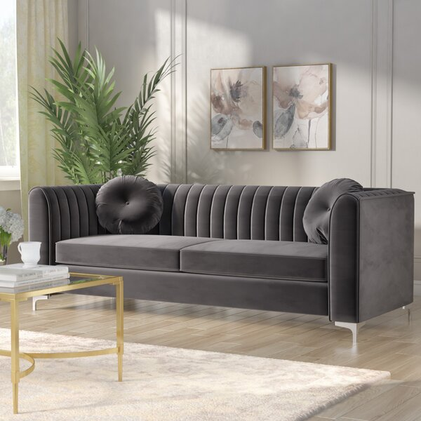 Last Trendy Herbert Sofa by Willa Arlo Interiors by Willa Arlo Interiors