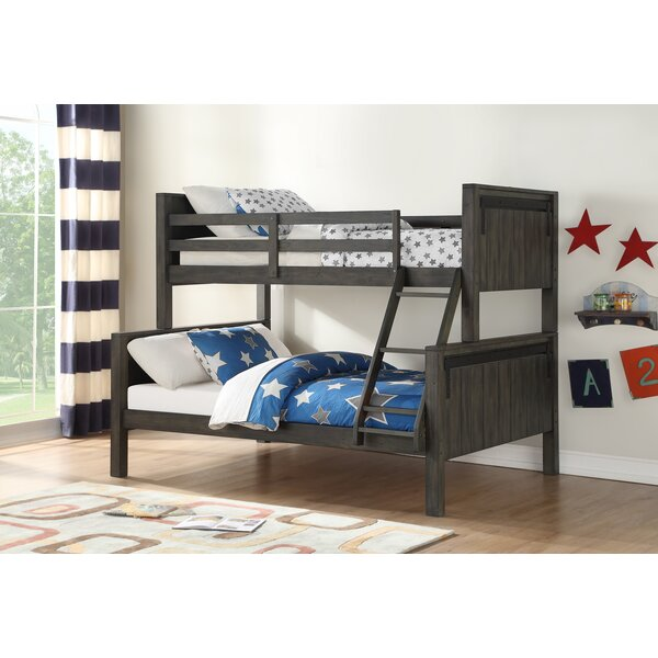 Colman Barn Style Twin Over Full Bunk Bed by Harriet Bee