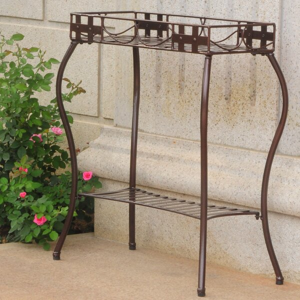 Santa Fe Patio Rectangular Plant Stand by International Caravan