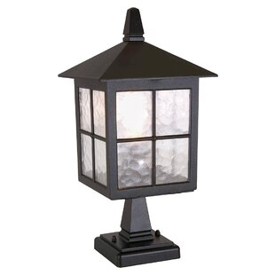 Best Reviews Popovich Pedestal Post Light By Charlton Home