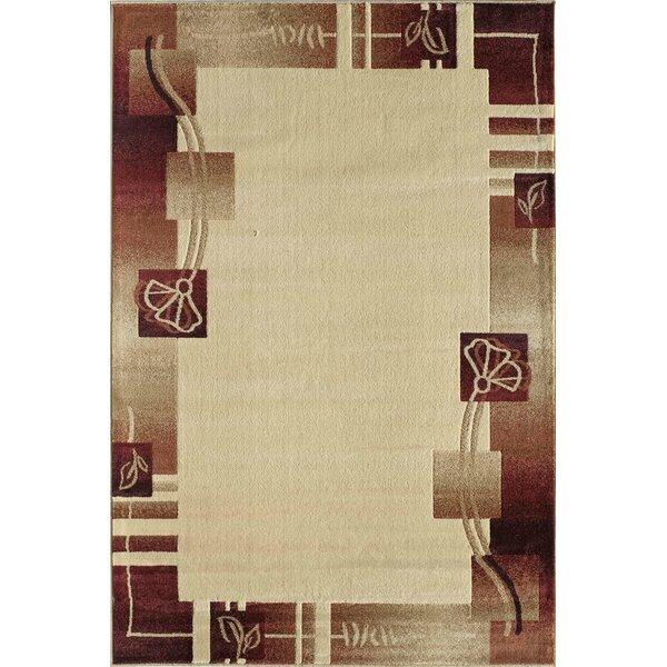 Allston Beige/Brown Area Rug by Threadbind