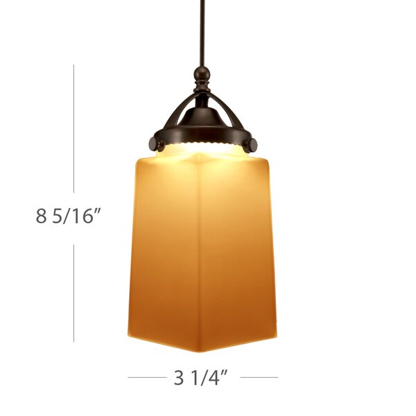 Huntington 1-Light Square/Rectangle Pendant by WAC Lighting