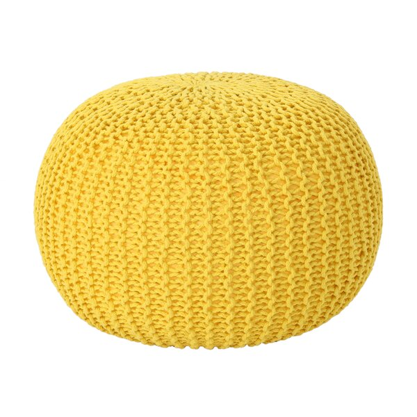 Giraldo Mabery Knitted Pouf by Ebern Designs