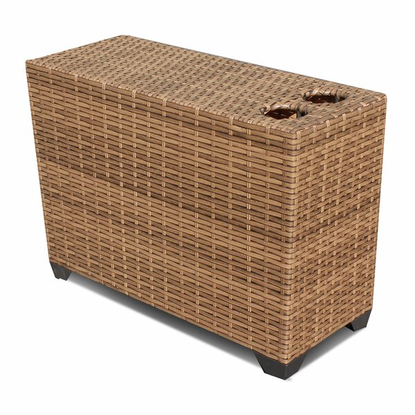 Waterbury Wicker/Rattan Side Table by Sol 72 Outdoor