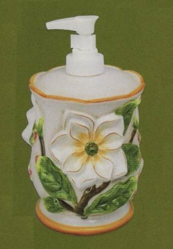 Gardenia Soap & Lotion Dispenser by ABC Home Collection