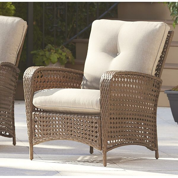 Edwards Patio Chair With Cushion (Set Of 2) By Highland Dunes