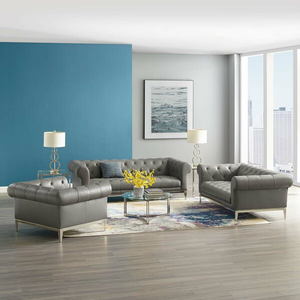 Idyll 3 Piece Piece Living Room Set By Modway