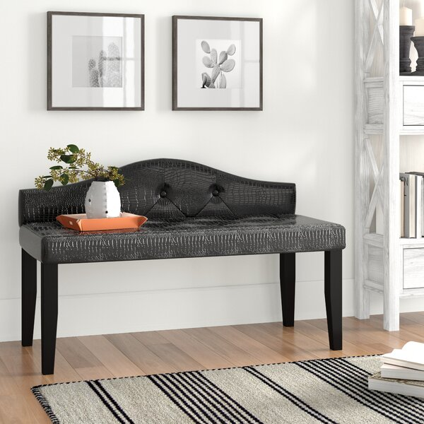 Entrada Upholstered Bench by Andover Mills