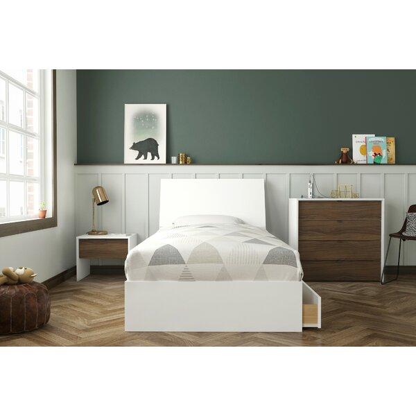 Kylah Twin Platform 4 Piece Bedroom Set by Harriet Bee