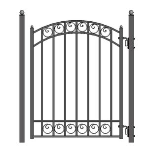 Wrought Iron Gates And Fence Wayfair