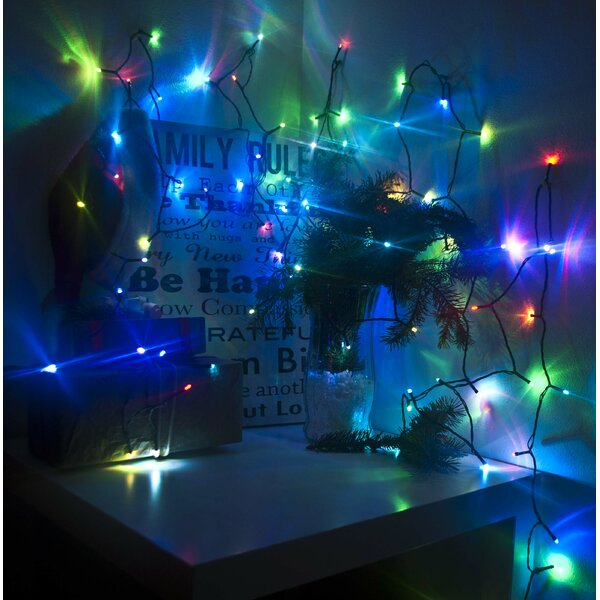Electric Powered 100 Light String Lighting by ALEKO
