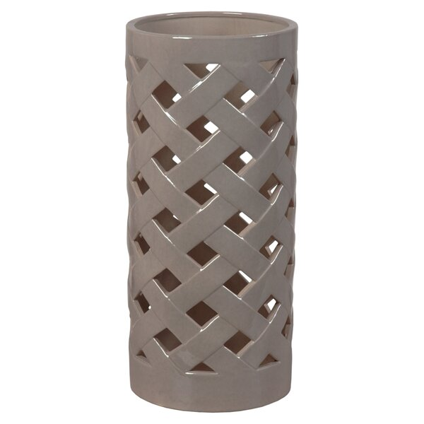 Wethersfield Criss Cross Umbrella Stand by Darby Home Co