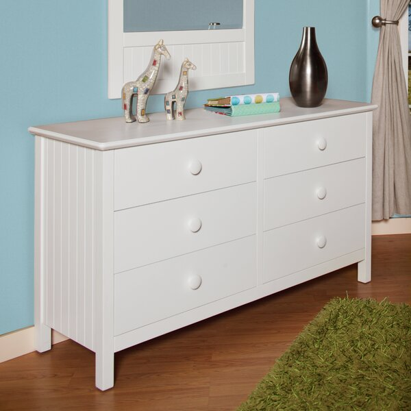 Dakota 6 Drawer Dresser with Mirror by Epoch Design