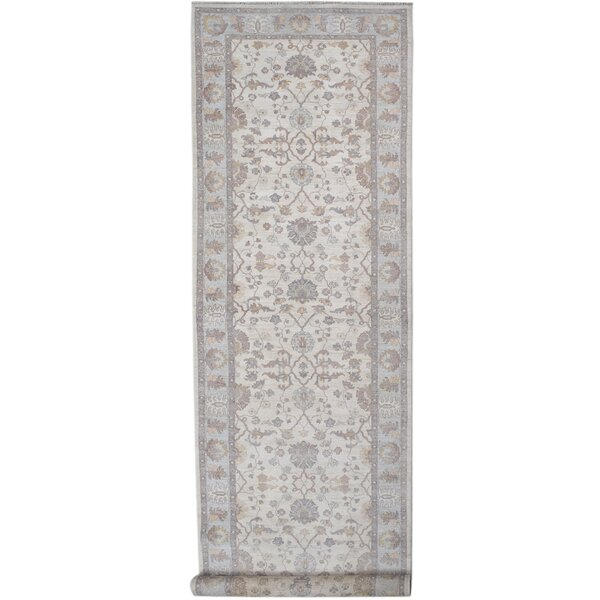 Hand-Knotted Gray Area Rug by Wildon Home ®