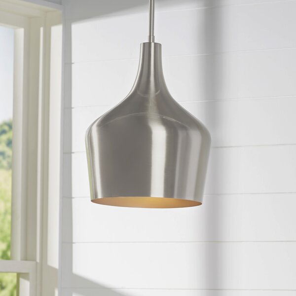 Knoxville 1-Light Geometric Pendant by Langley Street