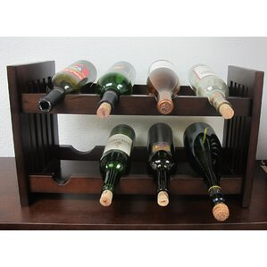 Old Country 8 Bottle Tabletop Wine Rack by D-Art Collection