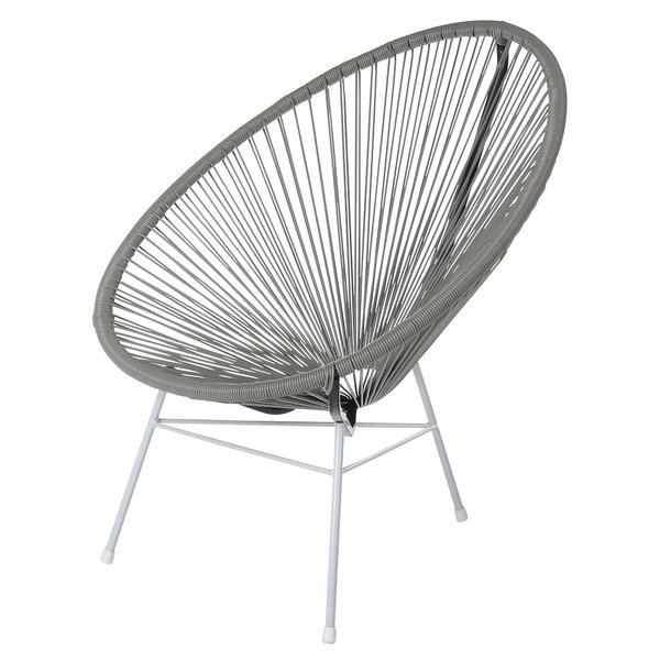 Lessard Acapulco Woven Basket Patio Chair by Ivy Bronx Ivy Bronx