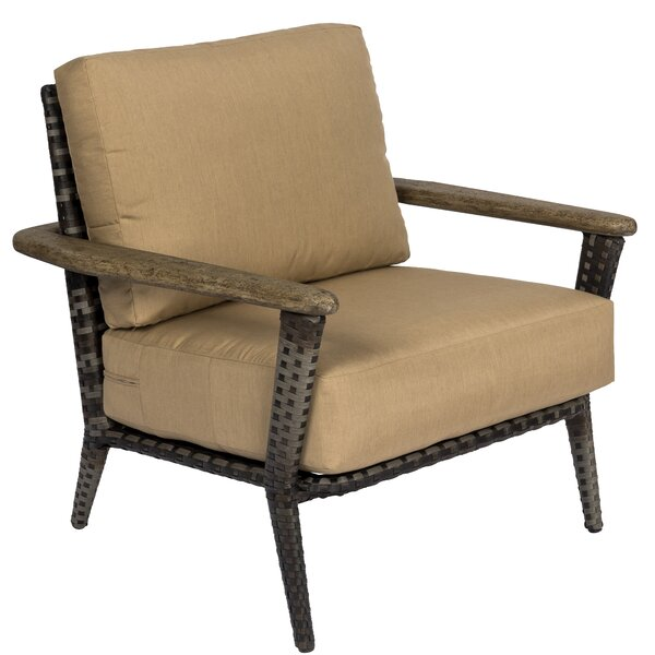 Draper Patio Chair with Cushions by Woodard