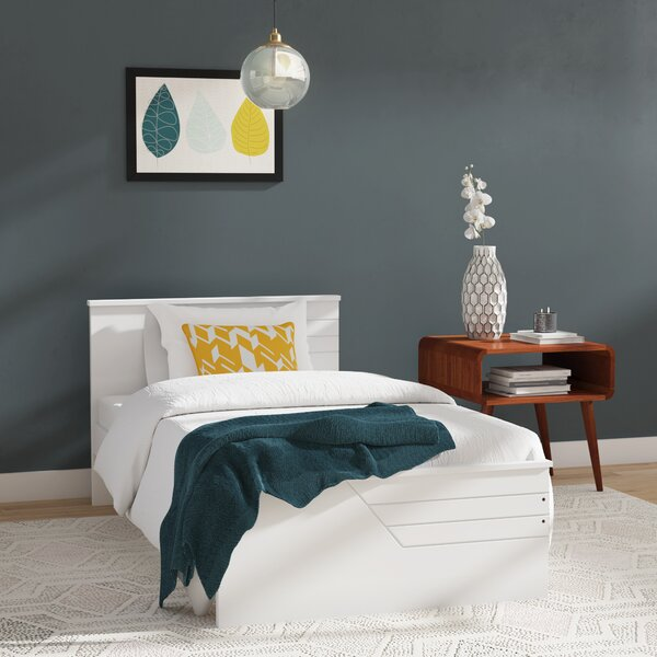 Facey Twin Platform Bed by Mack & Milo
